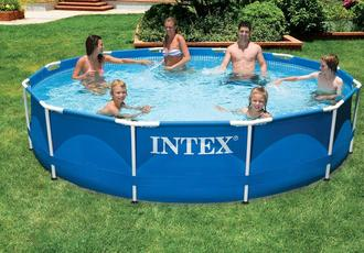 Metal frame pools 366 76 intex for Bestway vs intex