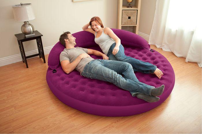 Спинка для круглой кровати